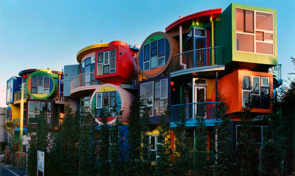 Reversible Destiny Lofts by Madeline Gins and Shusaku Arakawa