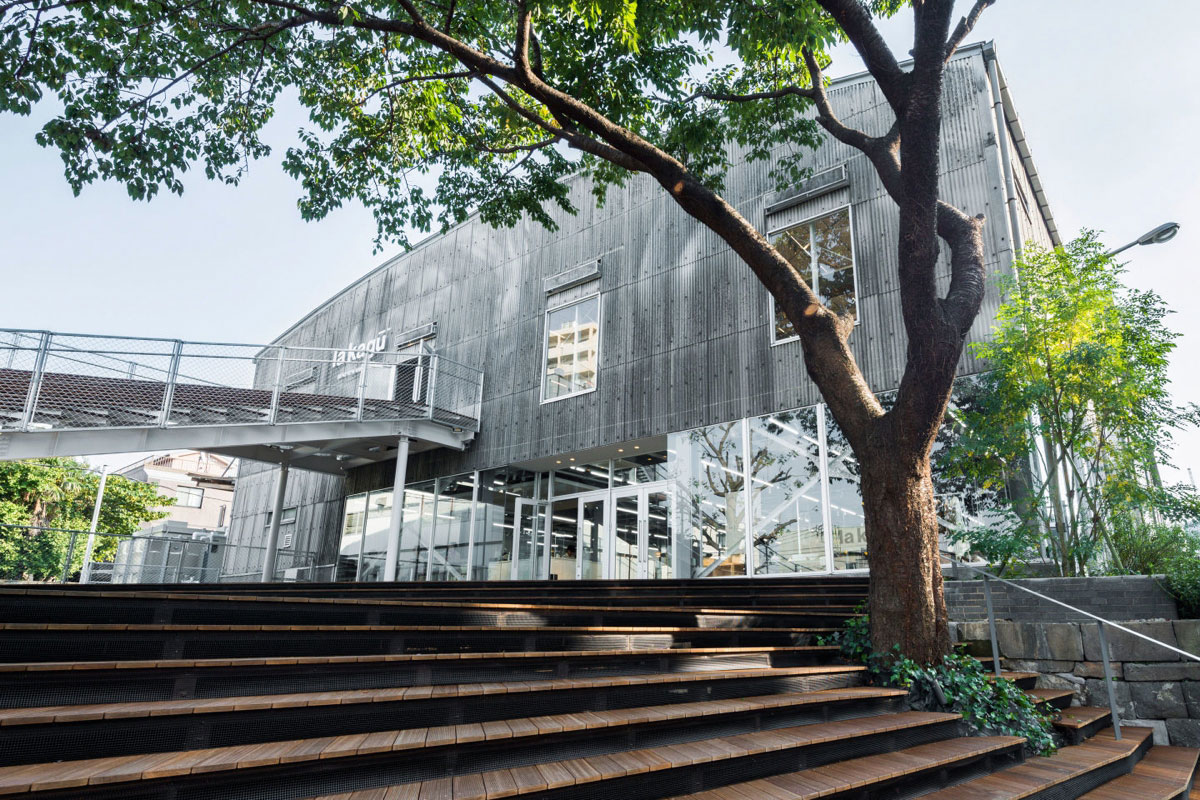 La Kagu Kengo Kuma And Associates ⋆ Archeyes