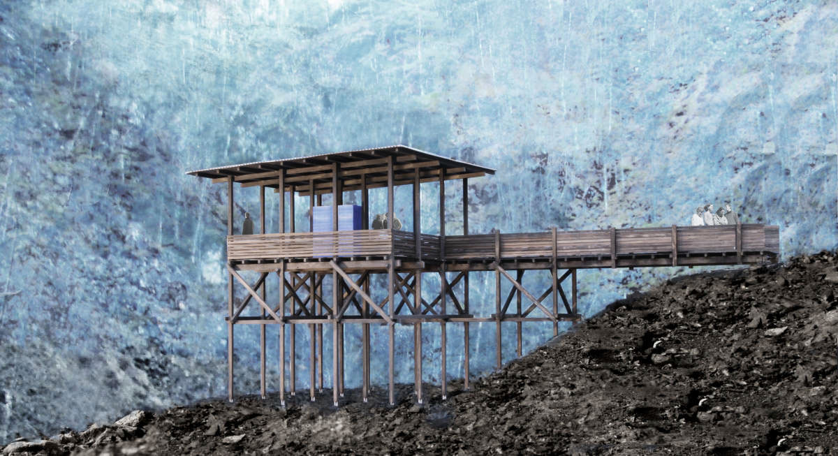 Zinc mine museum project peter zumthor norway archeyes for Architecture zinc